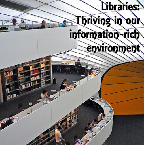 Future Libraries:  Nerve Center of the Community