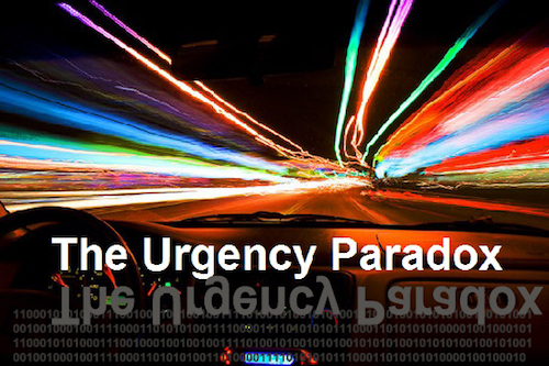 Thomas Frey Futurist Speaker the urgency paradox