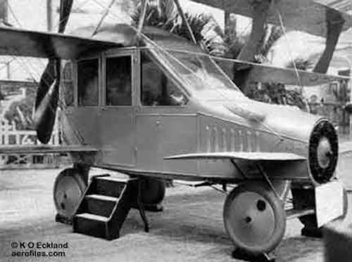 Thomas Frey Futurist Speaker Curtiss Autoplane, world's first flying car built in 1917