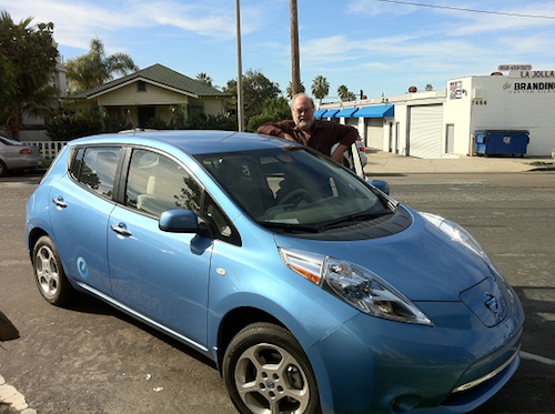 Thomas Frey Futurist Speaker my weekend with the new all electric nissan leaf