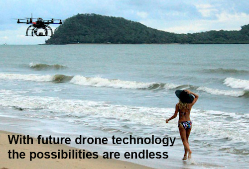Thomas Frey Futurist Speaker the day of the drone is upon us