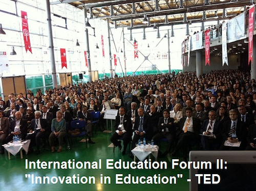 Thomas Frey Futurist Speaker signaling the rebirth of turkish education