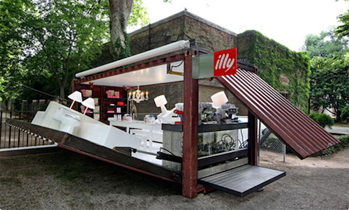 Thomas Frey Futurist Speaker Pop-Up Shop by illy