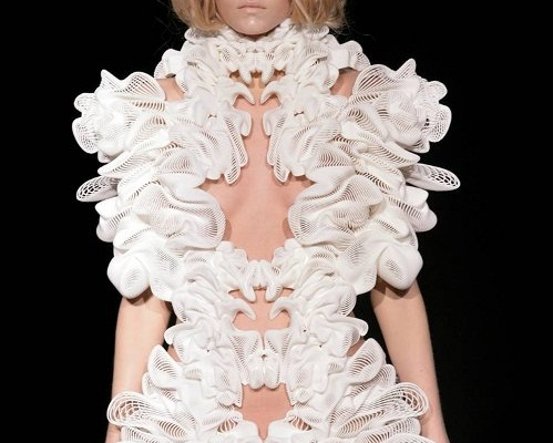 Thomas Frey Futurist Speaker 3d Printed Dress