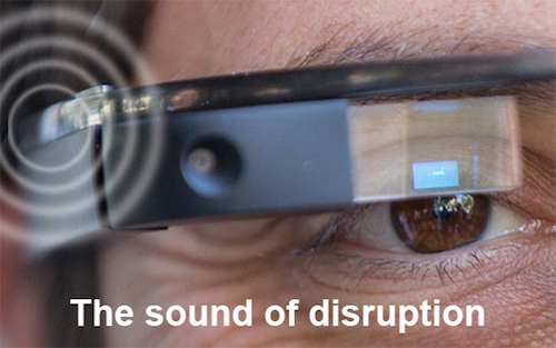Thomas Frey Futurist Speaker how google glass will disrupt the hearing aid industry