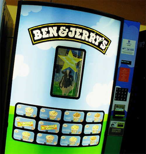 Thomas Frey Futurist Speaker Ben & Jerry's Ice Cream Machine