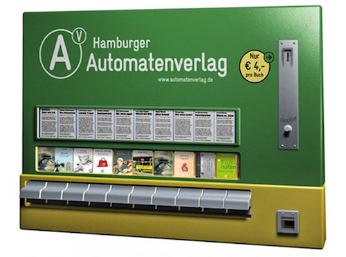 Thomas Frey Futurist Speaker German publisher Hamerger Automatenverlag vending machine for books and magazines
