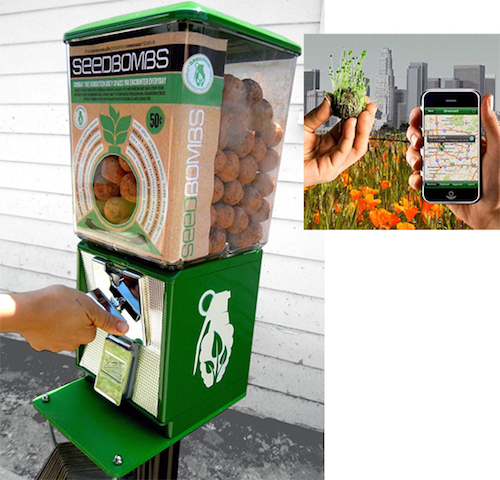 Thomas Frey Futurist Speaker Seedbomb Vending Machine