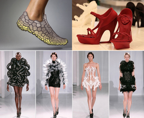 Thomas Frey Futurist 3D printed clothing and shoes