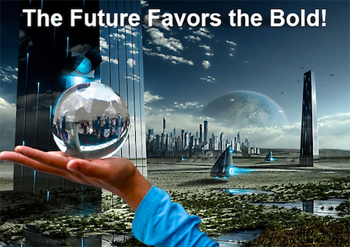 Thomas Frey Futurist Speaker future favors the bold 8 backcasting scenarios for understanding the future