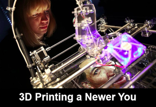 Thomas Frey Futurist Speaker how long before I can 3d print a replacement body for myself