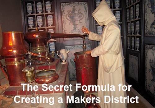Thomas Frey Futurist Speaker blueprint for a makers district