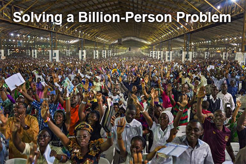Thomas Frey Futurist Speaker solving a billion person problem