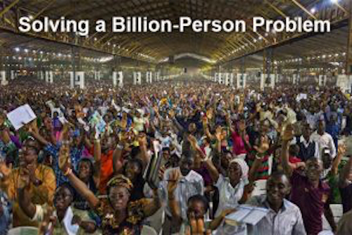 Thomas Frey Futurist Speaker solving a billion person problem 1