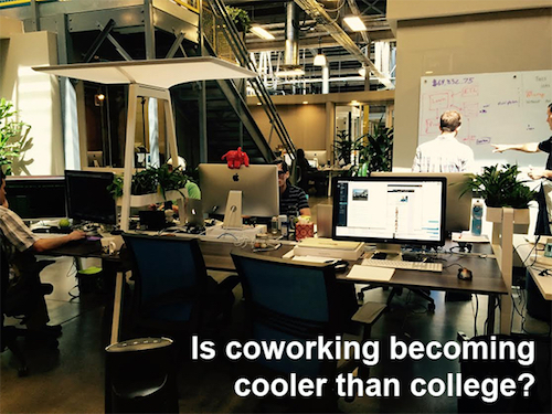 Will Coworking Replace Colleges?