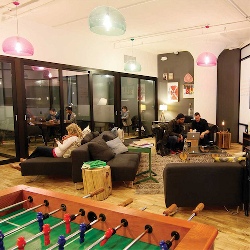 Thomas Frey Futurist Speaker Game rooms are common in coworking spaces