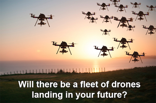 Reaching 1 Billion Drones by 2030