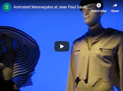 Thomas Frey Futurist Video: Automated Mannequins