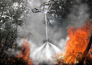 Thomas Frey Futurist Speaker: Fighting Fires with Drones