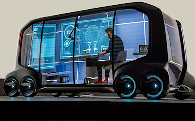The Coming Driverless Mobile Office Era: Seventeen Mind-Bending Examples