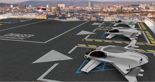 Futurist Speaker Thomas Frey Blog: Mini Airport And Drone Taxi