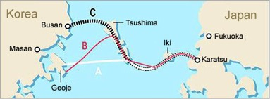 Futurist Speaker Thomas Frey Blog Future Bridge Tunnel Project Japan Korea Undersea Crossing