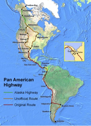 Futurist Speaker Thomas Frey Blog Pan American Highway Darien Gap