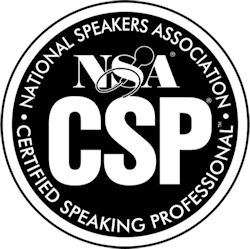 Thomas Frey Certified Speaking Professional by National Speakers Association
