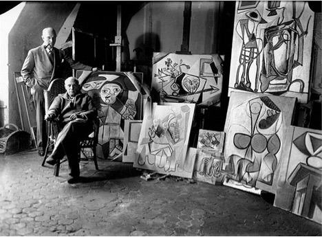 Futurist Speaker Thomas Frey Blog: Picasso in his Paris studio!