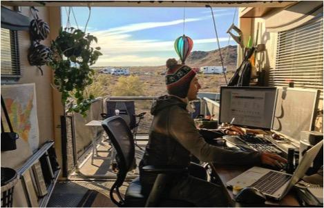 Futurist Speaker Thomas Frey Blog: Developing Mobile Work Life Strategies