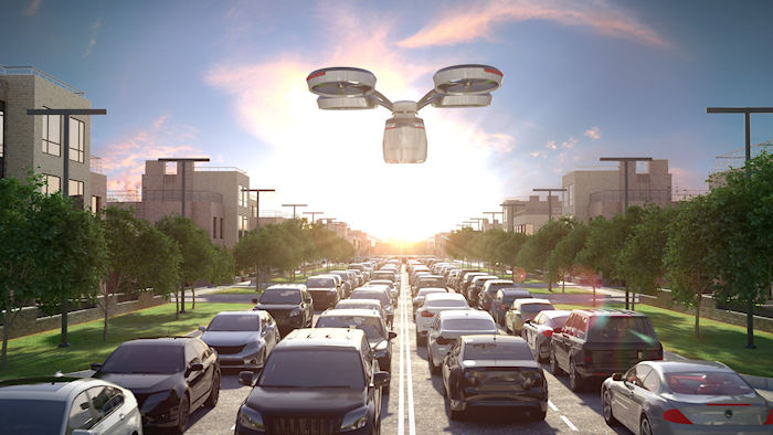 Futurist Speaker Thomas Frey Blog: Drone Taxis and Drone Depots