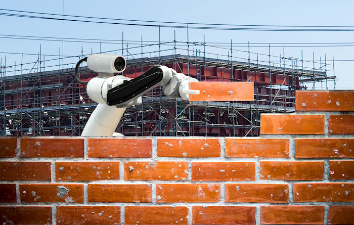 Futurist Speaker Thomas Frey Blog: Robotic Bricklaying Construction